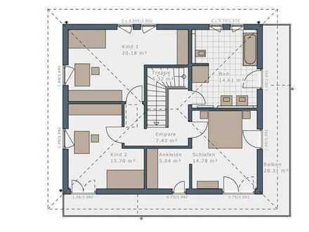 Kann es auch ein wenig mehr Wohnen sein - Ihr KfW-40-Haus inkl. Bodenplatte