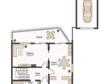 Kurzzeitvermietung eines charmanten Zweifamilienhauses in ruhiger Lage