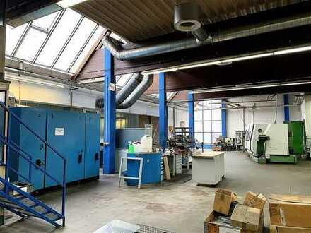 *Ideale Produktionsflächen mit Büro-, Sozial- u. Nebenräumen!* Direktanschluss an B14!