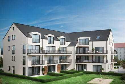 E & Co.-Neubau einer schönen 4 Zimmer Maisonettewohnung (Haus im Haus) mit Privatgartenanteil (SNR).