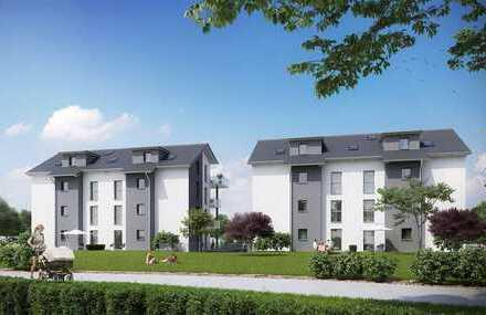 Hochwertige 4-Zimmer-Neubau-Wohnung im DG