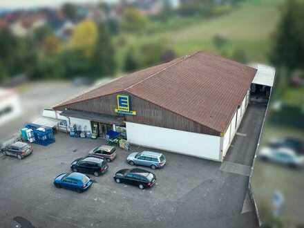 Laden, Lager, Logistik: vielseitige Gewerbeimmobilie in Esselbach