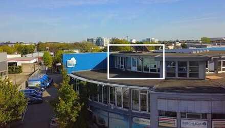 Penthouse Büroetage | 150 m2 mit Bodentiefen Fenstern und Panoramablick