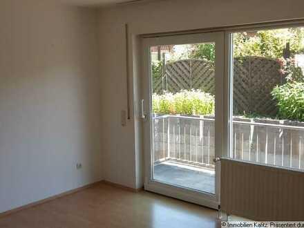 moderne Hochpaterre Wohnung mit Balkon in Lohnsfeld