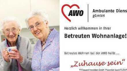Großzügige 1- Zi.-Seniorenwohnung in betreuter Wohnanlage