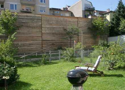 Exklusive 4-Zimmer-Luxus-Wohnung mit eigenem Garten in Toplage Maxvorstadt - Ruhe mitten im Zentrum