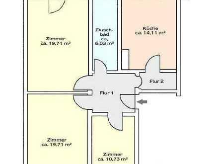 Renovierte 3-Zimmer-Wohnung in Bad Reichenhall