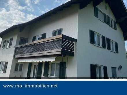 Eigentumswohnung mit Balkon im 1. OG - derzeit vermietet - in 87493 Lauben-Heising