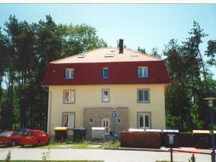 schöne große und gemütliche 2-Raum-Wohnung mit Balkon in einer Villa