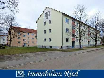 Vermietete 3 Zimmer Etagenwohnung mit Loggia in zentraler und doch ruhiger Wohngegend von Bobingen