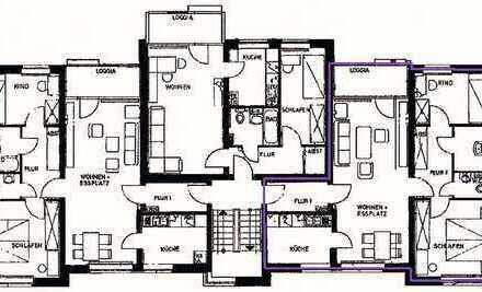 3-Zimmer-Wohnung mit Balkon, Garage und Keller in Wilhelmshaven - Wiesenhof