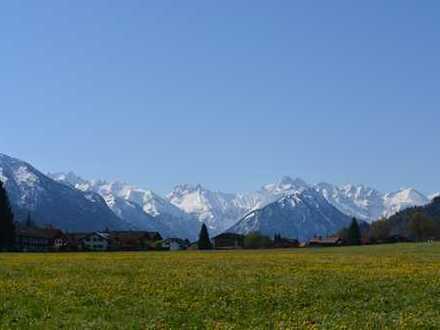 Landhaus in einzigartiger Lage von Oberstdorf - mit Blick auf die Skisprungschanze