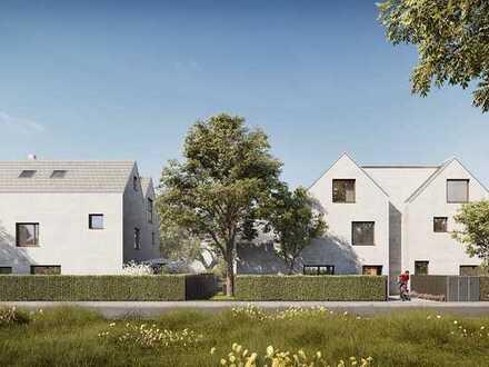 Erstbezug: exclusive 2-Zimmer-Erdgeschoß-Wohnung mit Hobbyraum und Terrasse in München-Waldtrudering