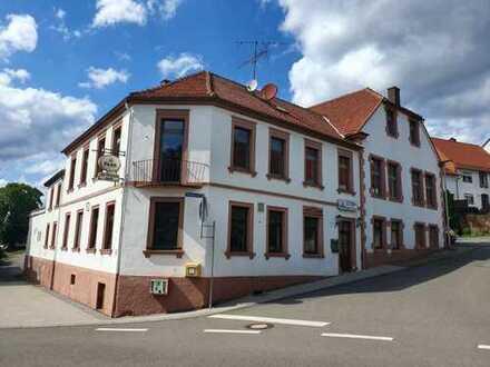 +++2 Häuser: Großes Wohn-und Geschäftshaus oder Mehrfamilienhaus und Ein- bis Zweifamilienhaus, G...