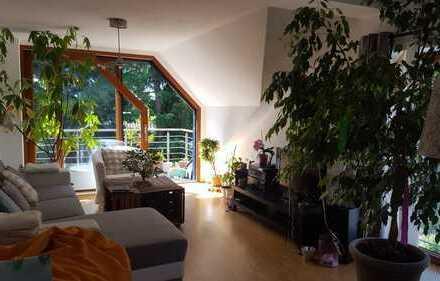 """wohnen und leben im """"grünen Penthouse"""""""