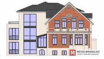 Neubau-Obergeschoss-Wohnung im alten Ortskern von Rastede (Obj.-Nr. 5883)