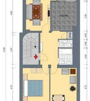 Schöne 3-Zimmer-Wohnung mit Balkon in Düren