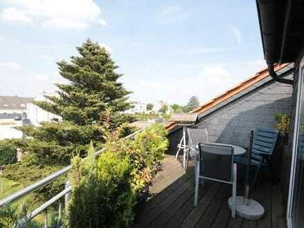 Balkonwohnung in ruhiger und grüner Wohnlage