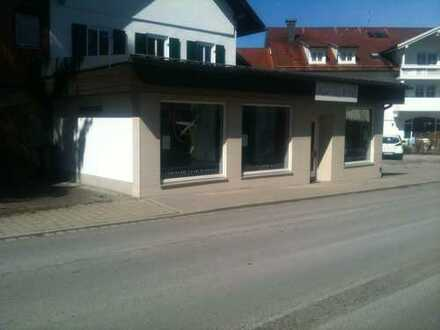 Gewerberäume in zentraler Lage in Lechbruck zu vermieten- derzeit noch im Umbau