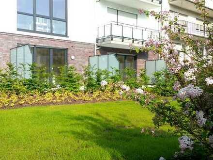 Zwei stilvolle 2-Zimmer- Erdgeschoss-Wohnungen im Zentrum von Brühl, Erstbezug!