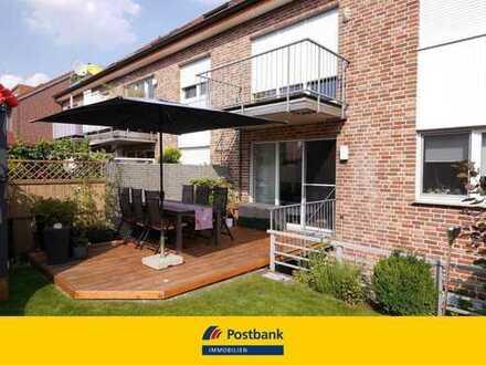 Moderne Eigentumswohnung mit eigenem Garten