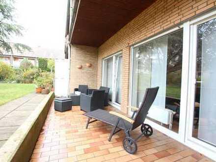 Gepflegte Erdgeschoßwohnung mit eigenem Zugang und Terrasse