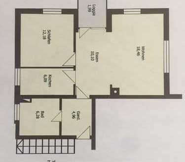 Bezugsfreie 2-Zimmer Wohnung zu verkaufen