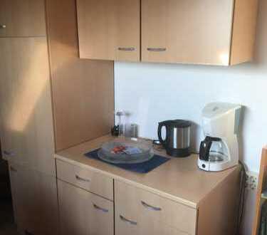 Stilvolle, geräumige und gepflegte 1-Zimmer-Dachgeschosswohnung,Einbauküche in Schriesheim