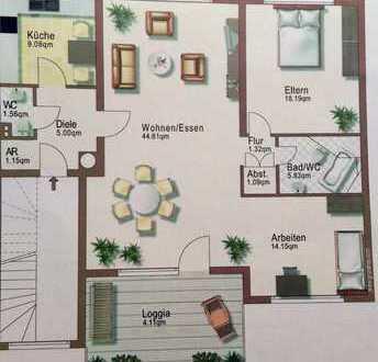 Gepflegte 3-Zimmer-Wohnung mit Balkon in Duisburg