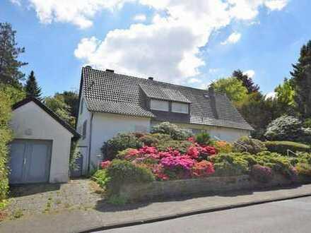 Blickfang! Freistehendes Einfamilienhaus mit viel Flair am Vogelsangbachtal