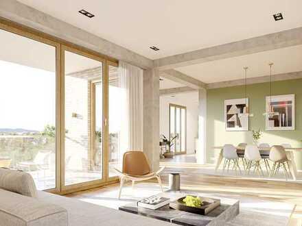 Premium Wohnen in Hattersheim - Exquisite Penthouse Loft-Wohnung auf rd. 111 m²/257 m² (Etagen-Loft)