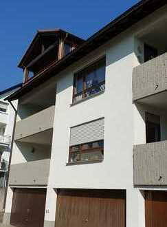 DG-Wohnung mit überdachten Südbalkon und einer Einzelgarage