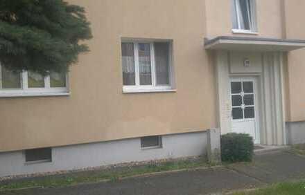 Mit Blick ins Grüne: Erdgeschosswohnung in Seidnitz