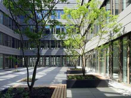 Fast noch nagelneu: Moderne Büroetage im Bundesviertel