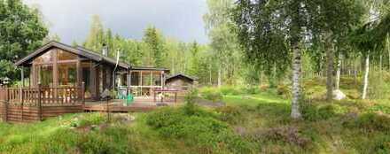 Freizeithaus am See Tjurken mit guter Lage und großem Grundstück