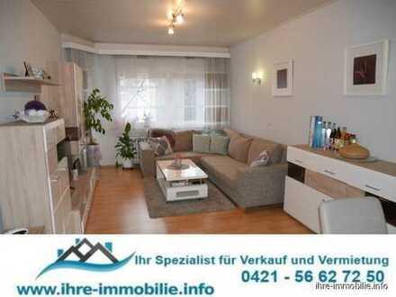 Bremen - Hulsberg: Helle 2-Zimmer-Wohnung im 2.OG mit Balkon, Boden- und Kellerraum.