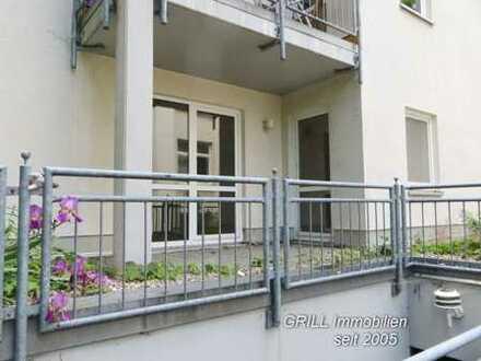 2-RW im EG, mit Terrasse, EBK, Bad mit Dusche, Fahrstuhl