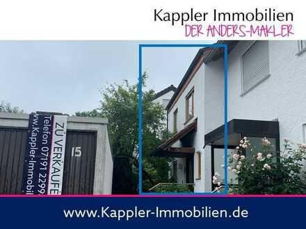 Schöne Doppelhaushälfte mit kleinem Garten in ruhigem Wohngebiet I Kappler Immobilien