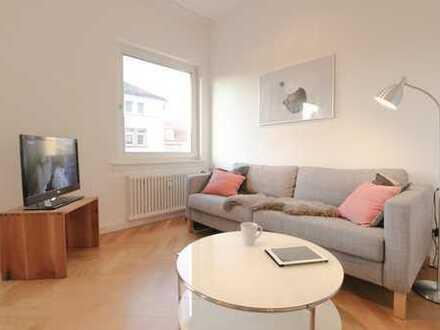 Möbliertes Apartment mit 2 Zimmern nahe EZB