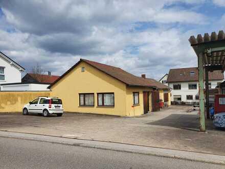 270 QM Werkstatt/Lager u. Bürofläche mit Küche/WC - Auch ca. 90 qm als Lager anmietbar.