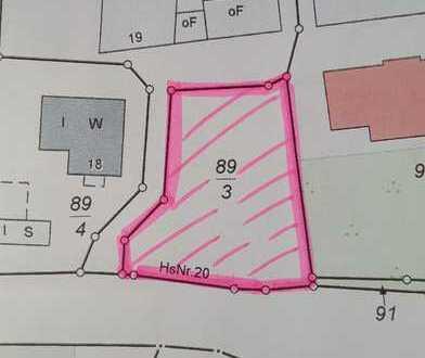 Zögern Sie nicht, greifen Sie zu... Baugrundstück in Gresse - ganz zentral gelegen