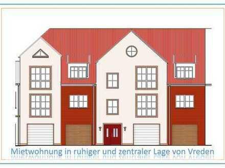 Erstbezug: ansprechende 3,5-Zimmer-Wohnung mit Balkon in VREDEN