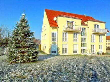 Moderne 2-Raum-ETW mit Balkon und PKW-Stellplatz - in sehr ruhiger Wohnlage - ca. 8 km östl. von BZ
