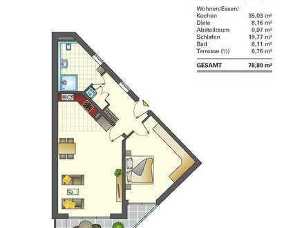 Erstbezug 2-Zimmer-Erdgeschosswohnung in Bad Waldsee