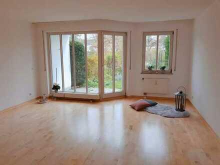 Gartenwohnung direkt an der Angerlohe! Helle und ruhig gelegene 2-Zimmer-Wohnung mit eigenem Garten