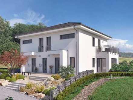 Ein modernes Zweifamilienhaus mit viel Platz für Ihre Träume