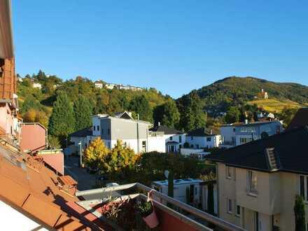 Schöne Maisonette-Wohnung mit drei Zimmern, Balkon und Einbauküche in Schriesheim