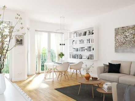 Lichtdurchflutete 3-Zimmer-Wohnung auf ca. 95 m² mit großem Wohnbereich & Balkon