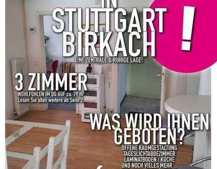3-Zimmer DG-Wohnung in ruhiger dörflicher Lage - Birkach