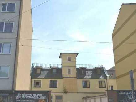 Rarität - Baulücke im Zentrum Nürnbergs für eine Mehrfamilienhausbebauung